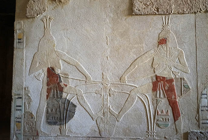 hatshepsut mortuary carvings