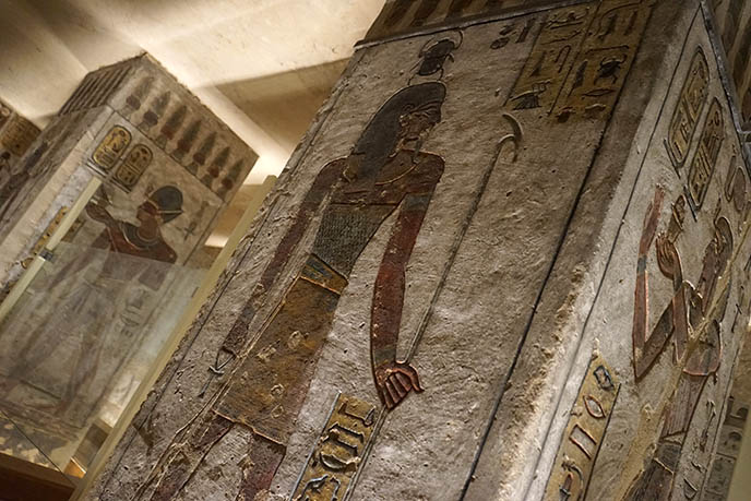 spooky haunted egyptian tombs
