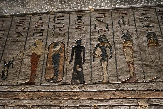 scarab headed god egypt creepy