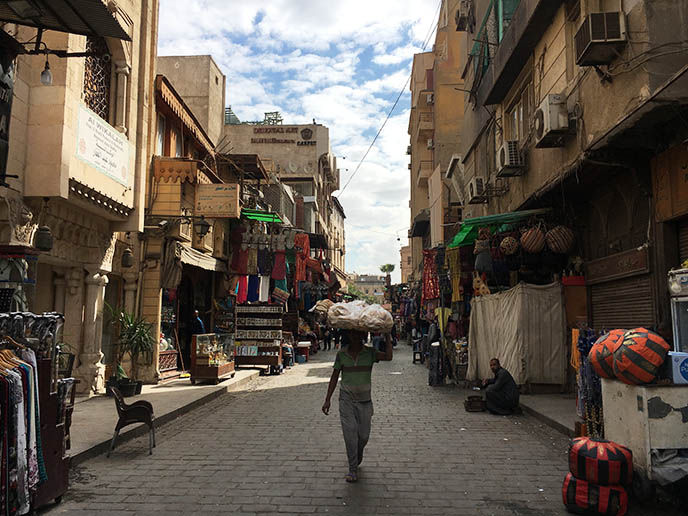 Khan el-Khalili cairo market souk