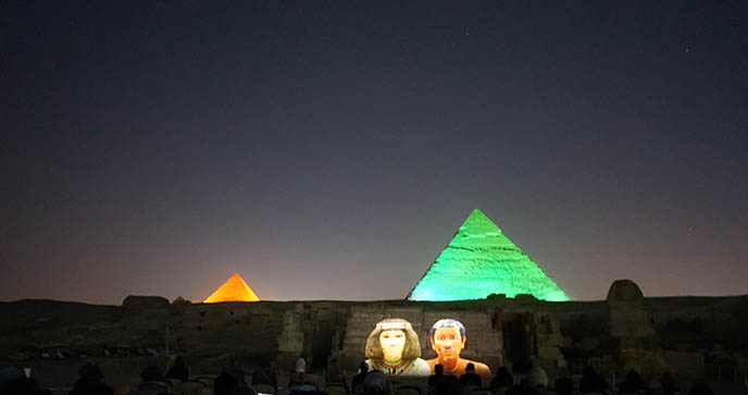Sound & Light Show at the Pyramids of Giza