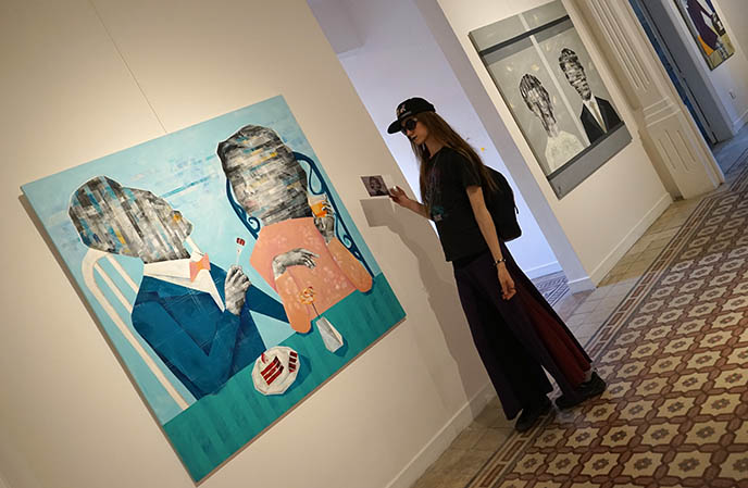 hip beirut contemporary avantgarde art gallery