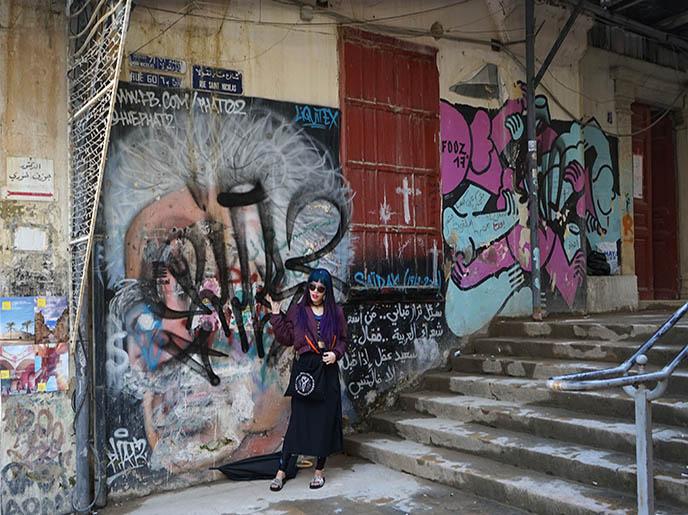 street art murals beirut graffiti