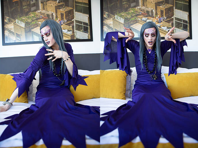 evil ursula sea witch dress costume
