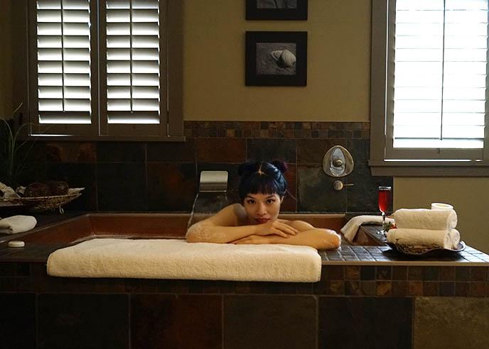 grotto spa wellness facials massages baths
