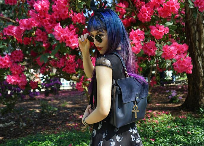 leo violette le petit backpack leather goods