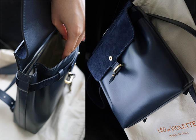Léo et Violette purses review, french sacs bags