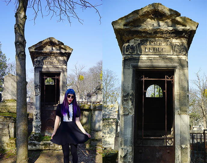 leduc vampire grave tomb, Musée des Vampires paris