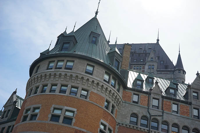 hotel frontenac quebec city fairmont architecture