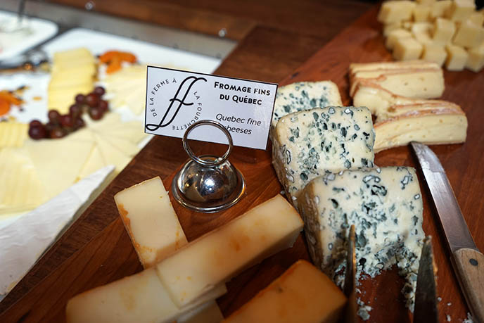 quebec cheeses, quebecois food