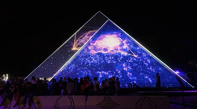 cirque soleil pyramid club, guy laliberte