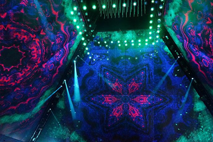 py1 nights pyramid immersive nightlife