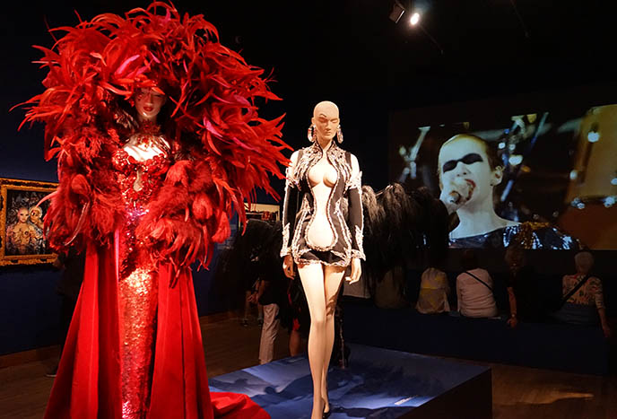 mugler couture dresses exhibit