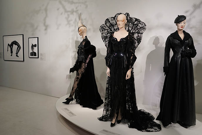 thierry mugler famous goth dresses gothic