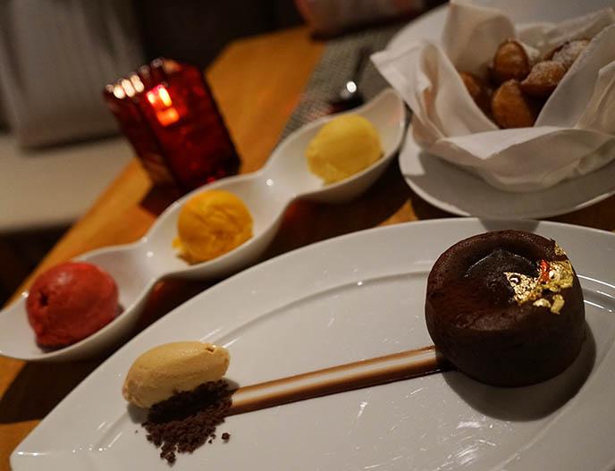maison boulud madeleines  dessert cake