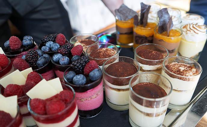europea desserts, dessert menu lunch