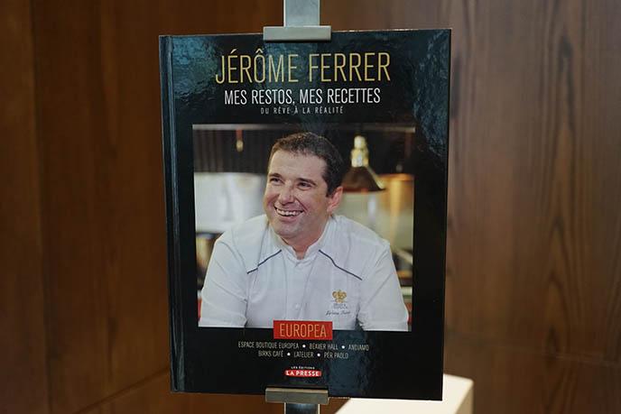 Chef Jérôme Ferrer cookbook