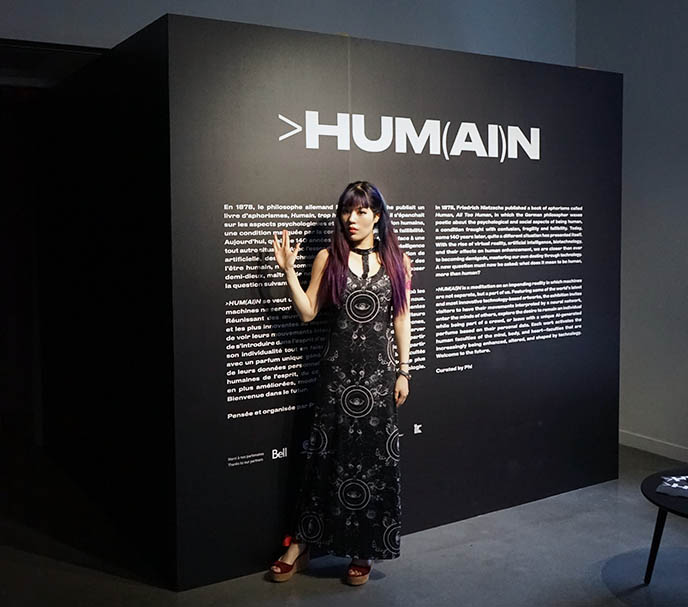 HUM(AI)N montreal artificial intelligence, biotechnology art
