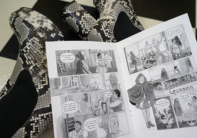 queer lgbt comics, naomi rubin portland artist moon sprout station