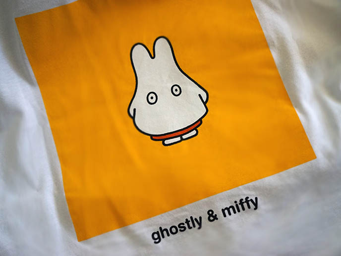 miffy clothing line ghostly streetwear street fashion