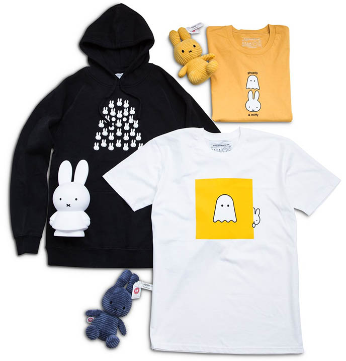 ghostly intl miffy tote bags, hoodies, shirts