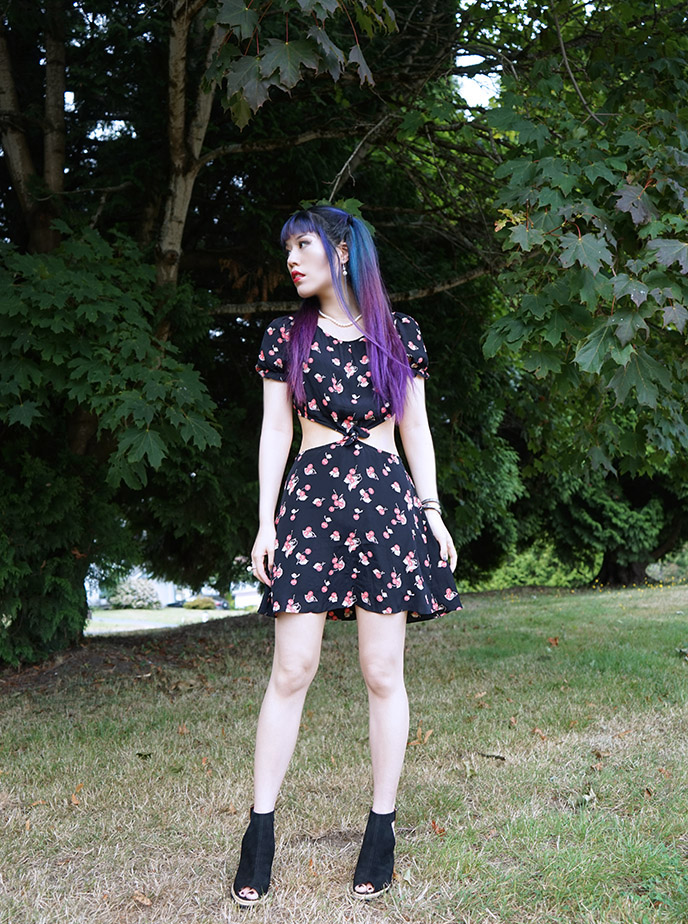 vancouver fashion blogger, bc goth gothic style