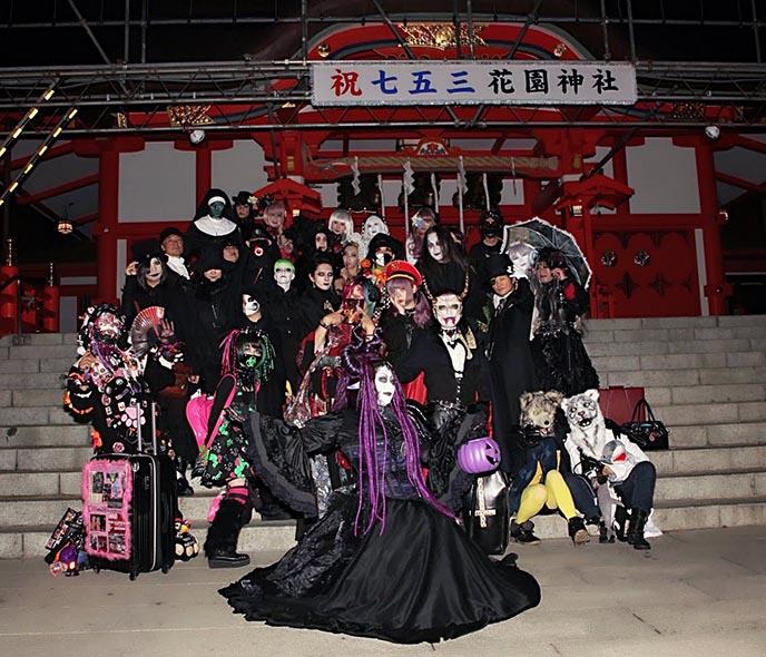 tokyo goth drag queen nightclub