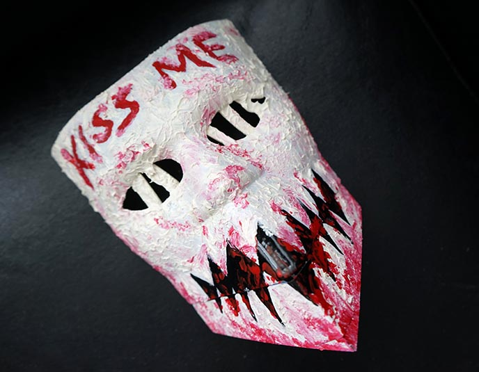 purge movie mask, kiss me, election year purge masks
