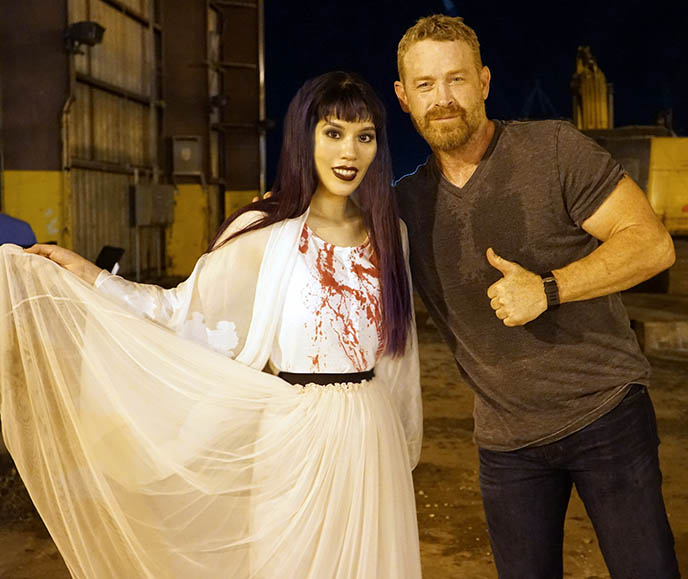 max martini the purge tv show actor star