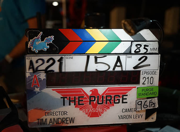 the purge season 2 movie, shooting new orleans