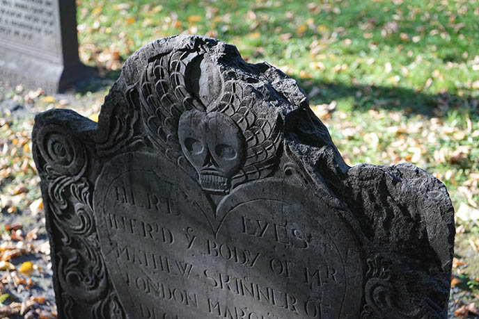 17th century boston cemetery