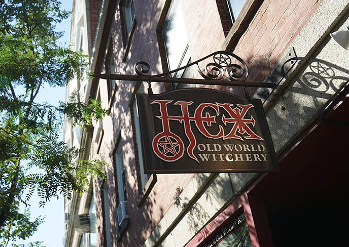 hex old world witchery shop