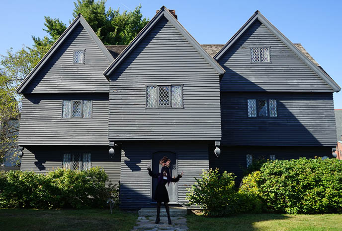 The Witch House at Salem, judge corwin historic home