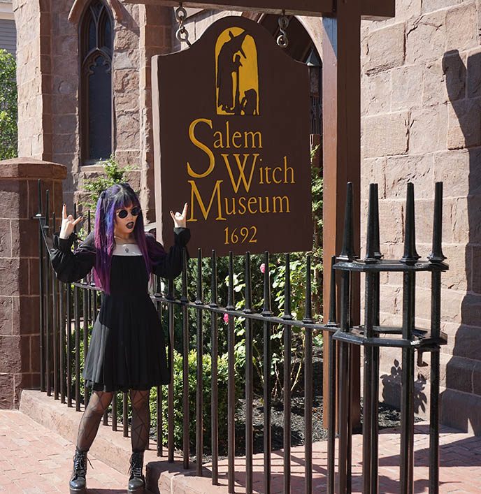 salem witch museum goth halloween haunted happenings