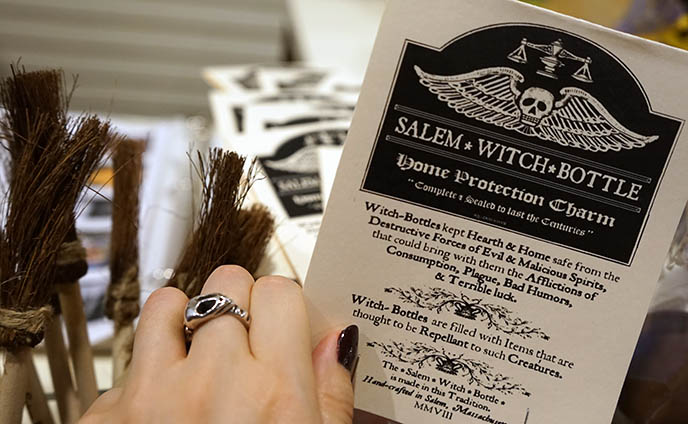 salem witch merchandise magic spells