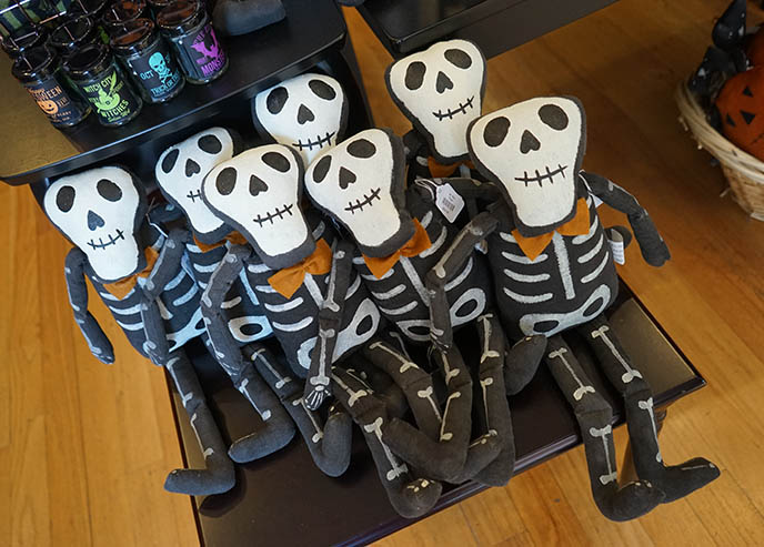 cute skeleton dolls plush toys goth