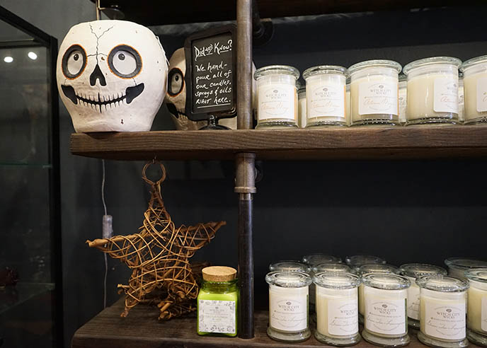 witch spell candles salem store shopping