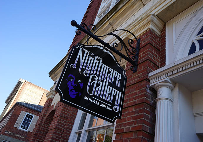 Count Orlok's Nightmare Gallery Salem monster museum