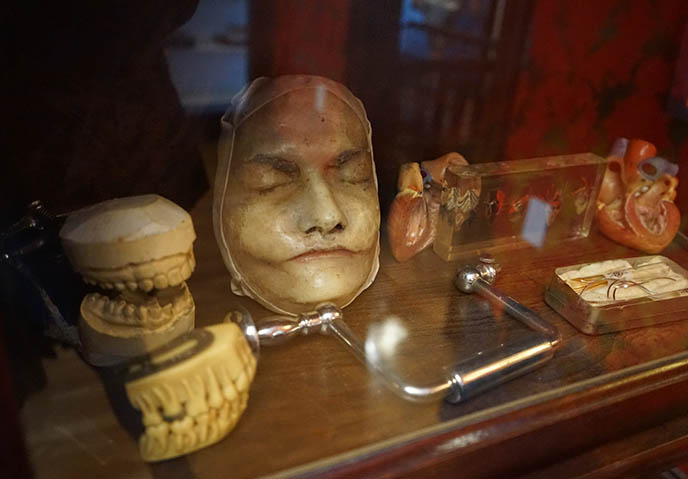 death masks museum satanic temple