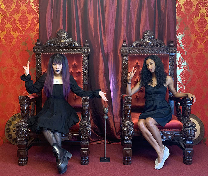 goth pope chairs gothic red antiqu furniture
