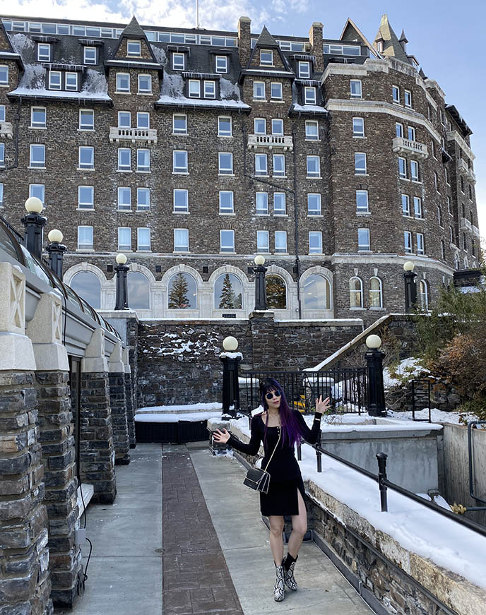 fairmont banff springs travel guide, haunted hotel