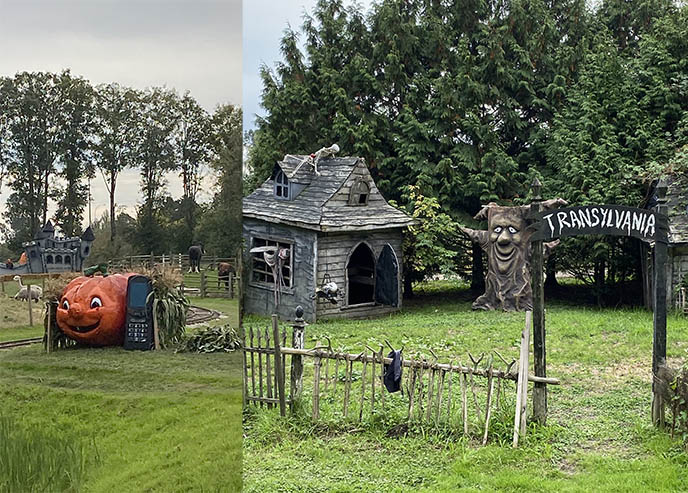 richmond country farms halloween displays