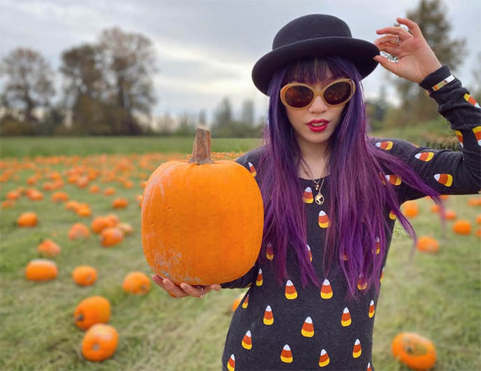 chaser brand candy corn halloween sweater, goth sweaters