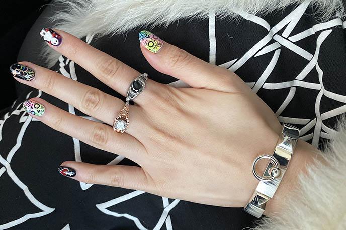 hermes silver collier de chien bracelet, hermes paris cdc small cuff jewelry