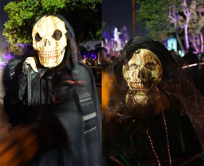 scary undead zombie masks