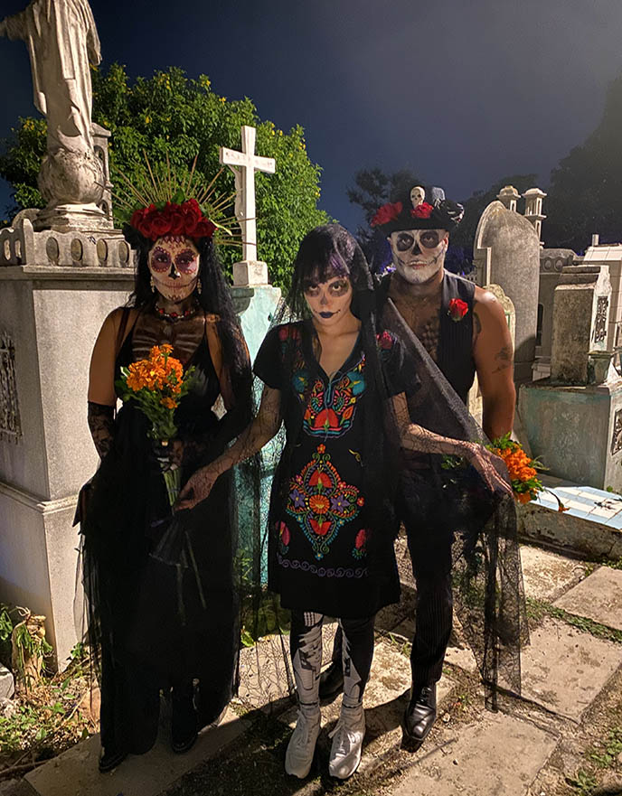 day of the dead costumes makeup mexico