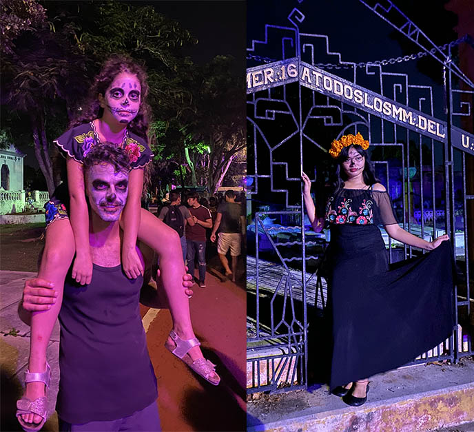 mexican cemetery celebrations halloween
