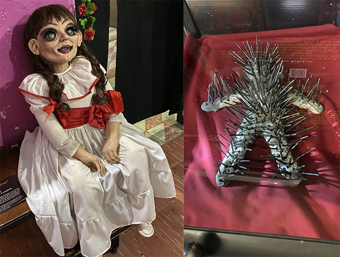 annabelle doll merida paranormal museum
