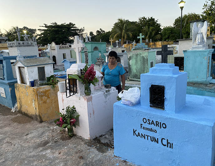 mexico osario graveyards