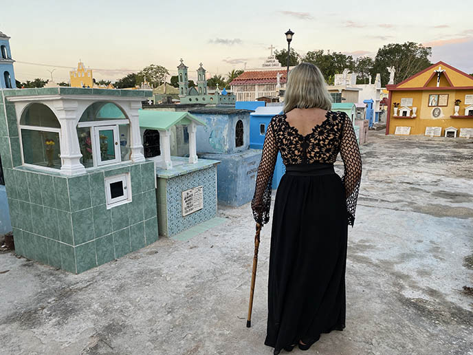 Mayan Rebirth Day of the Dead Yucatan tour